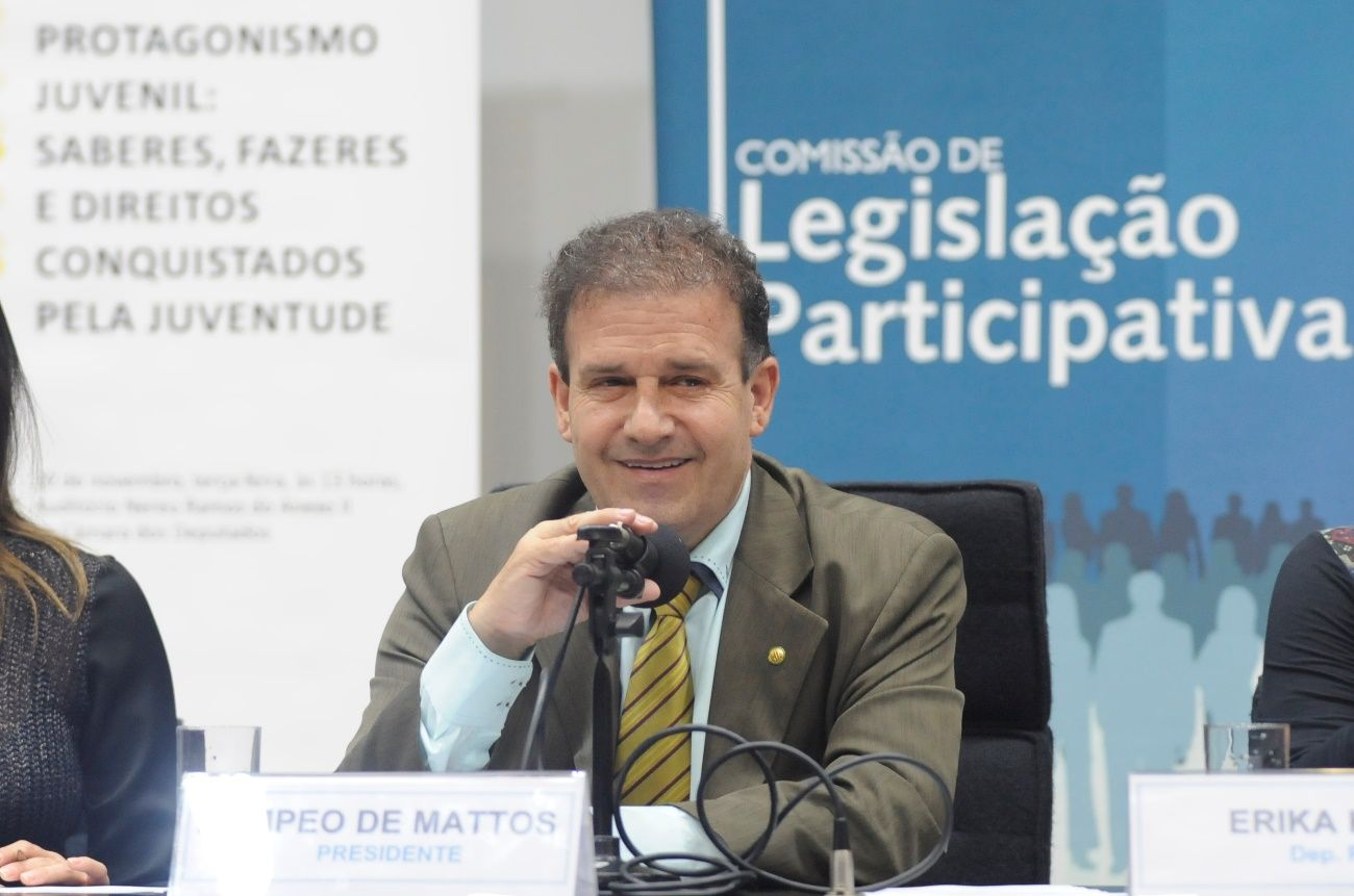 Pompeo de Mattos assume a presidência da Comissão de Legislação Participativa