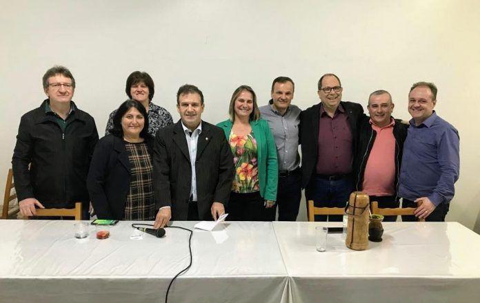 Com presença de Pompeo de Mattos, PDT escolhe novo coordenador no Vale do Taquari